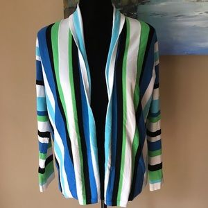 Ruby Rd. Petite NWOT Open-Front Cardigan; SZ PS